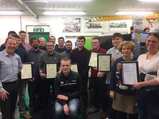 RPC celebrates apprentice success with focus on positivity