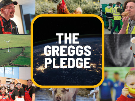 Greggs launches first full sustainability plan the 'Greggs Pledge'