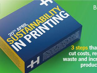 Webinar: Sustainability in printing with Heidelberg –register now