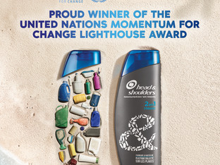 Head & Shoulders receives United Nations 'Momentum for Change' award