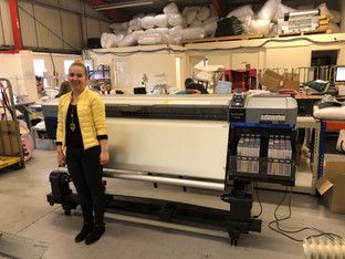 WPAPS takes the UK's first SureColor SC-F9300 textile printer