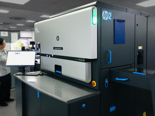 Pureprint Group first in uk to have two HP Indigo presses with silver Electroink technology