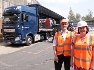 Labour MEP visits Cambridge recycling depot