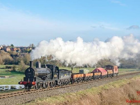 Visit of Lancashire & Yorkshire A-class locomotive