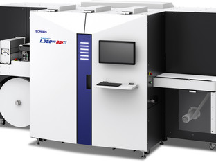 Screen launches new digital label printing machine with CGS colour management