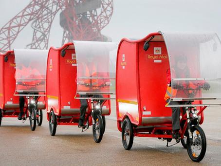 Royal mail trials e-Trikes