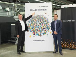 One million customers!