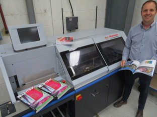 Fuller Davies Printing & Mailing prepares for business growth with perfect binder investment