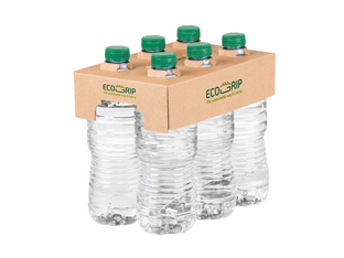Ecogrip delivers sustainable multi-packing of bottles