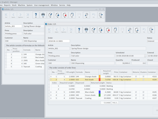 GSE enhances Ink manager software with module for improved job control and traceability