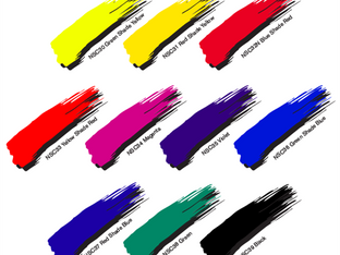 Nazdar's new NSC crystal clear transparent ink colour presenter