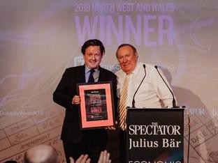 Transcend Packaging success at The Spectator Julius Baer economic disruptor awards