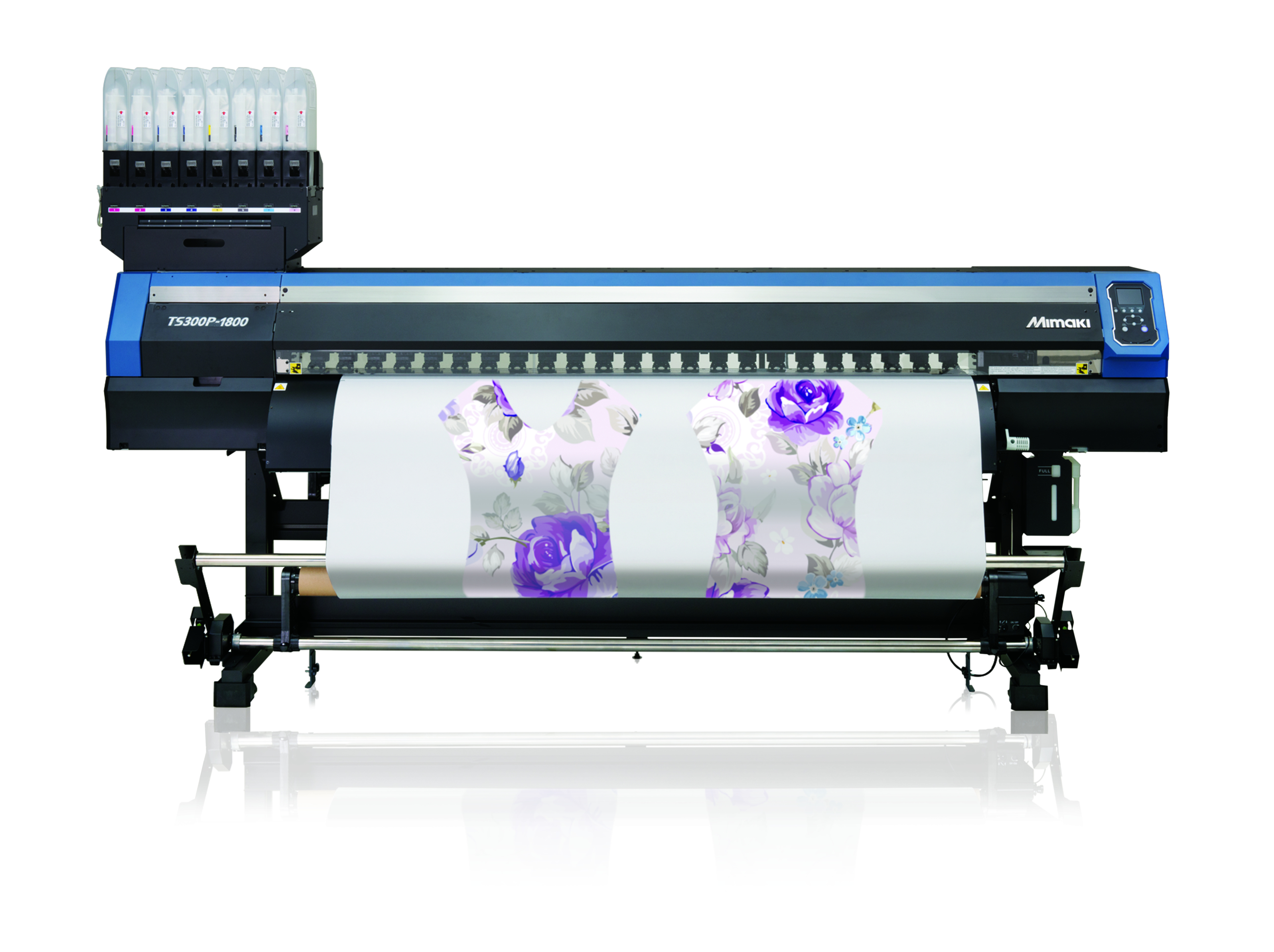 Hybrid supports textile companies with Mimaki TS300P price reduction