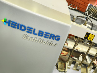 GPS finds productivity, quality and versatility gains with Stahlfolder TH 82-P