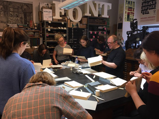 The Printing Charity funds Designer Bookbinders' Transferring Design initiative promoting the craft