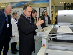 IJ showcases leading inkjet solutions to Konica Minolta senior executives