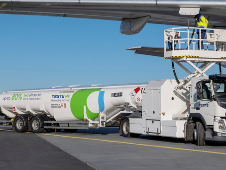 Sustainable Aviation Fuel introduced for the first time at Gatwick Airport