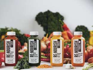 Bottles help deliver a 'soup-erior' experience