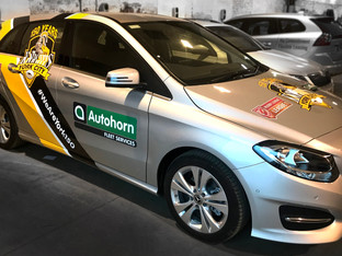 AD Bell Sign Systems moves back from latex to solvent technology for car wraps