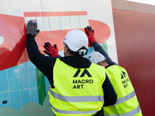 MacroArt's high impact hoardings deliver for noted property developer
