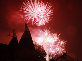 Fireworks and spookiness at Kent Life