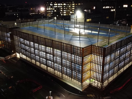 APCOA delivers the first NHS multi-storey car park with integrated energy centre