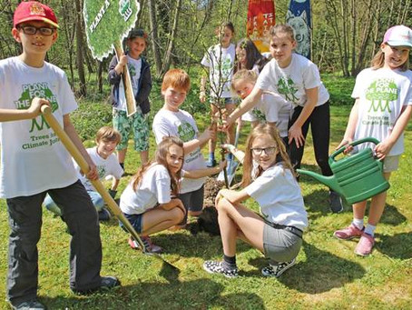Children become climate ambassadors – UPM supports Plant-for-the-Planet