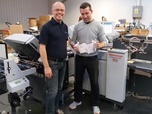 Hartgraph expands capacity with folder