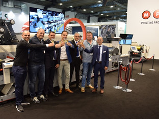 MPS success at Labelexpo