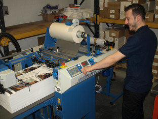 The Printroom brings lamination in-house