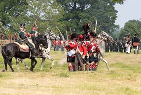 Napoleonic re-enactment weekend – bringing history to life at Hole Park