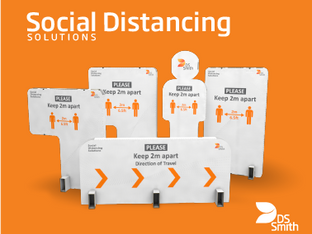 DS Smith launches Social Distancing Solutions
