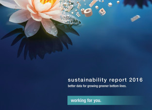 Sun Chemical Releases 2016 Sustainability Report
