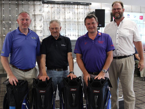 More than £4800 raised for Kent charity at Chart Hills golf day