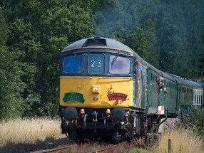 'Ales on Rails' at the Spa Valley Railway