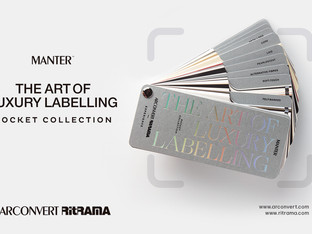 New Art of Luxury Labelling Pocket Collection catalogue by Manter