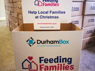 Durham Box supports Feeding Families charity