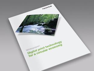 Digital print technology for a circular economy
