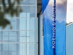 Koenig & Bauer announces a 3.7% price increase effective 1 April 2018