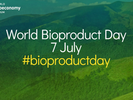 World BioEconomy Forum enhances awareness of bioproducts with launch of #Bioproductday