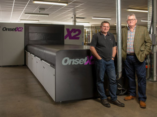 Open house showcases Derwent Displays' investment in  Inca Digital Onset X