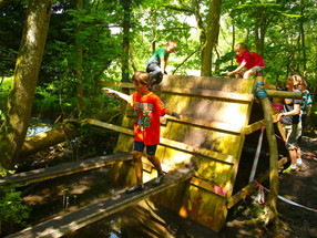 Let your kids go wild, get muddy and have a 'best day ever!'