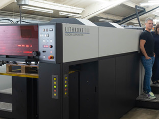 New Komori GL29 for RAP Spiderweb