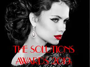 OPEN FOR ENTRIES! Are you creative? Enter The Solutions Awards 2019