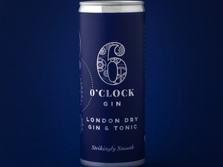 6 o' Clock Gin launches new line with help from Amberley Labels