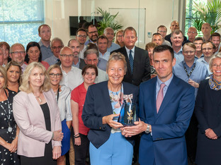 GIS Celebrates Second Queen's Award for Enterprise Success