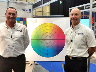hubergroup enjoys a busy Ipex