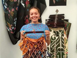 Epson announces its two 'Outstanding Use of Print in Textiles' Award winners at New Designers Exhibi