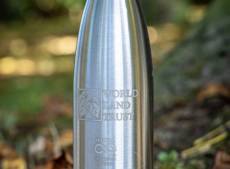 New metal water bottle to support habitat conservation