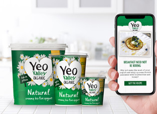 Yeo Valley Organic launches 'always on' connected packaging